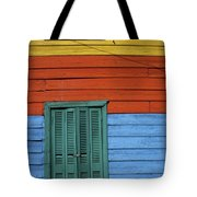 Colourful Shutters La Boca Buenos Aires Tote Bag