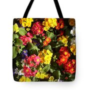 Colourful Spring Flowers Tote Bag