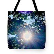Colourful  Sunburst Tote Bag
