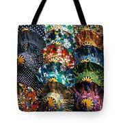 Colourful Umbrellas Bangkok Thailand Tote Bag