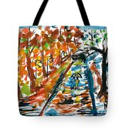 Colourfull Lovers Walking Tote Bag