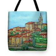 Colours Of Crillon-le-brave, Provence Tote Bag
