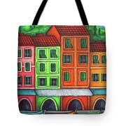 Colours Of Liguria Tote Bag