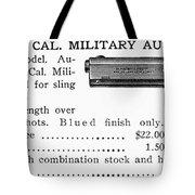 Colt .45 Automatic Pistol Tote Bag