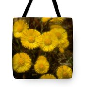 Coltsfoots Bouquet #4 Tote Bag