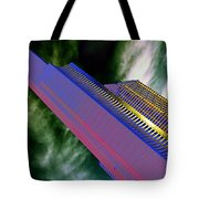Columbia And Municipal Towers Seattle Wa Tote Bag