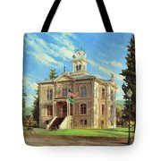 Columbia County Courthouse Tote Bag