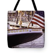 Columbia From The Stern Tote Bag