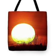 Columbia Gorge Sunset Tote Bag