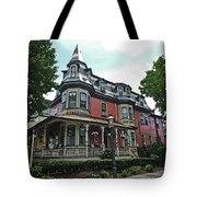 Columbia House Watercolor Tote Bag