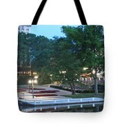 Columbia Lakefront Panorama Tote Bag
