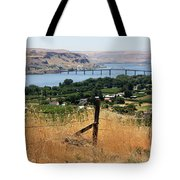 Columbia River - Biggs And Maryhill State Park Tote Bag by Carol Groenen