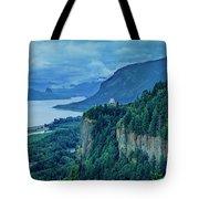 Columbia River Gorge Panoramic Tote Bag