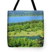 Columbia River Gorge View Tote Bag