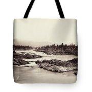 Columbia River: Kettle Falls Tote Bag
