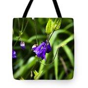 Columbine Flower 2 Tote Bag