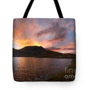 Columbine Lake Sunset - Weminuche Wilderness - Colorado Tote Bag