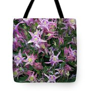 Columbine Splendor Tote Bag