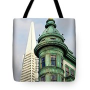 Columbus Avenue - San Francisco, California Tote Bag