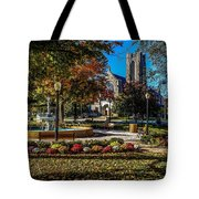 Columbus Day In The Park Tote Bag