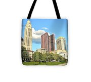 Columbus From The Park Tote Bag