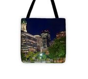 Columbus Park Boston View Tote Bag