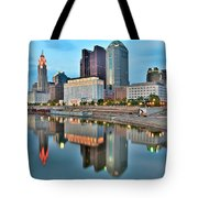 Columbus Squared Tote Bag