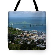 Column View Tote Bag