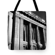 Columns And Buildings Tote Bag