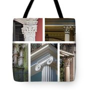 Columns Of New Orleans Collage Tote Bag