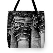 Columns Of St. Roch Church Watercolor Tote Bag