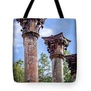 Columns Of Windsor Ruins Tote Bag