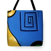 Columns Right Side Tote Bag