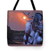 Comanche Spirit Tote Bag