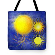 Combating Suns Tote Bag