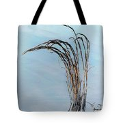 Combie Lake Reeds Tote Bag