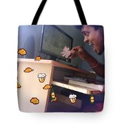 Combination Of Photo And Art Jerry Tote Bag