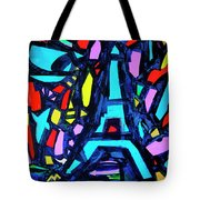 Come Back To Paris Tote Bag