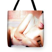 Come Be Quiet Here My Love  Tote Bag
