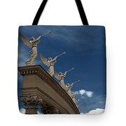 Come Blow Your Horn - Angels And Trumpets - Caesars Palace Las Vegas Tote Bag