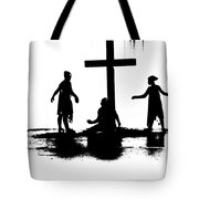 Come Let Us Worship Tote Bag