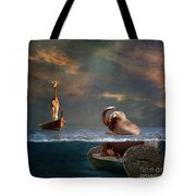 Come On My Friend Tote Bag by Martine Roch
