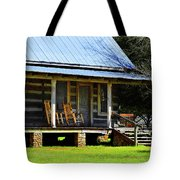 Come On Up - Sit A Spell Tote Bag
