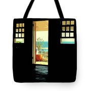 Come Over To The Light Side Tote Bag