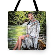 Come Sit With Me Tote Bag