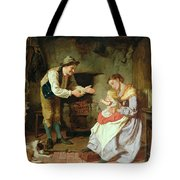 Come To Daddy Tote Bag by William Henry Midwood