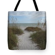 Come To The Beach Tote Bag