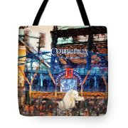 Comerica Tigers Detroit Tote Bag