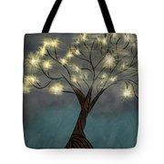 Comet Tree Tote Bag