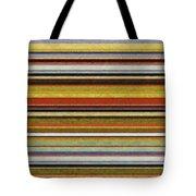 Comfortable Stripes Vl Tote Bag by Michelle Calkins